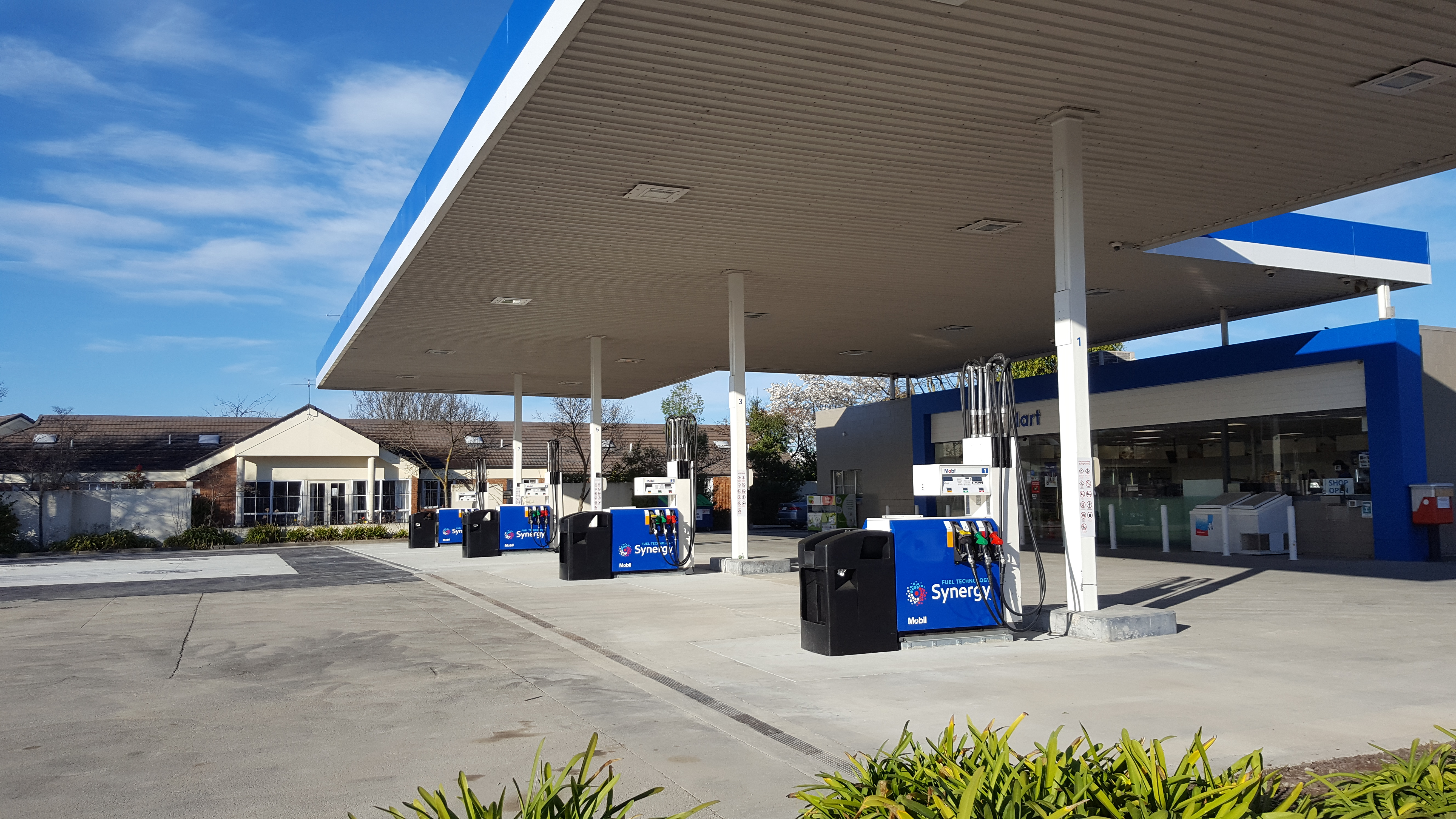 Mobil Riccarton - Petrotec Services - Fuel Distribution Systems New Zealand